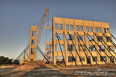 HDR of Construction of New Building