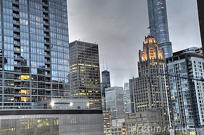 HDR of Downtown Chicago