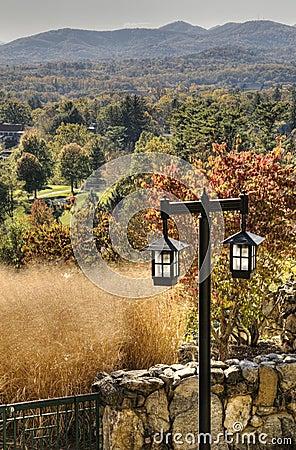HDR of Fall in North Carolina