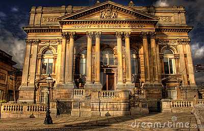 HDR image of County Sessions House Liverpool