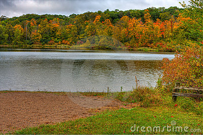 HDR of Lake Alice.