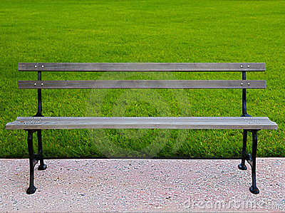 HDR park bench