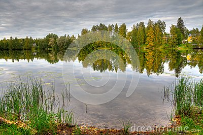 HDR photo of finnish scenery