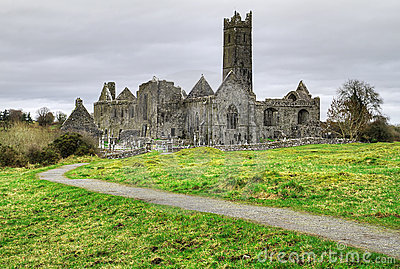 HDR of Quin Abbey