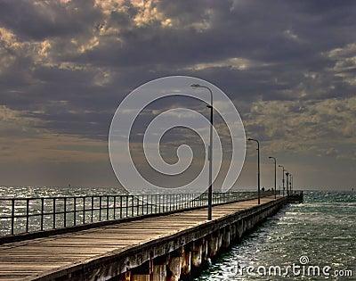 HDR of Rosebud Pier
