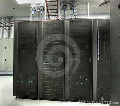 HDR of Server Room