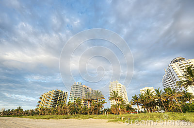 HDR of South Beach