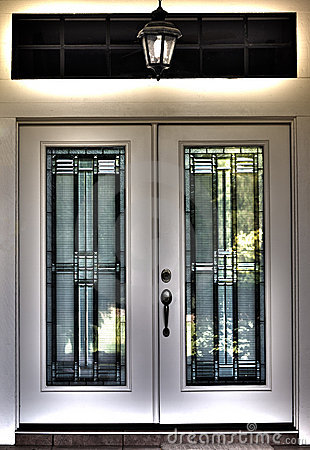 Free HDR Surreal Double Front Door Stock Photo - 19835940