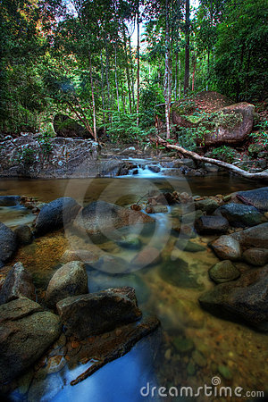 HDR Waterfall or stream