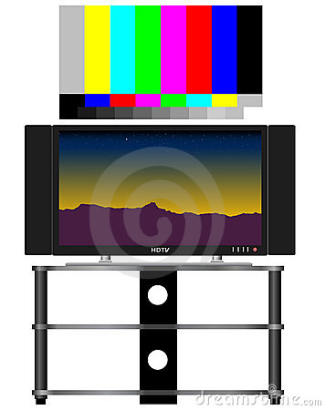 HDTV and Test Pattern