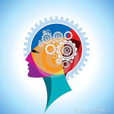 Free Head And Brain Gear Royalty Free Stock Photo - 28431035