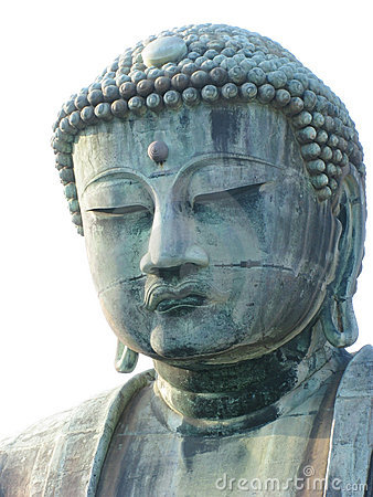 Head of a biggest outdoor Buddha statute