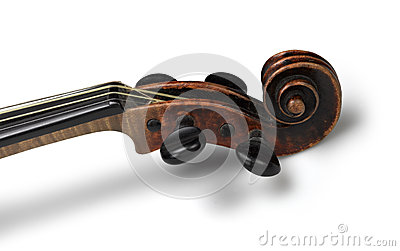 Head of classical violin