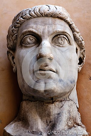 Head of the Colossus of Constantine