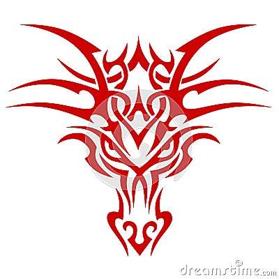 Head Dragon Royalty Free Stock Photography - Image: 7087887