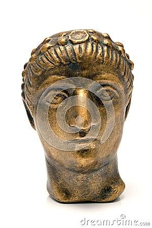 Head of emperor Constantine