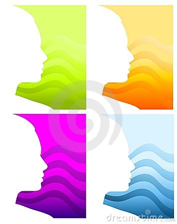 Head Face Silhouette Backgrounds