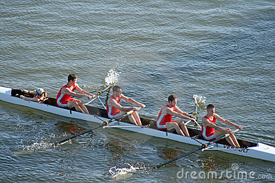 Head of the Hooch Rowing Regatta Editorial Image