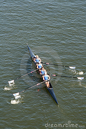 Head of the Hooch Rowing Regatta Editorial Stock Image
