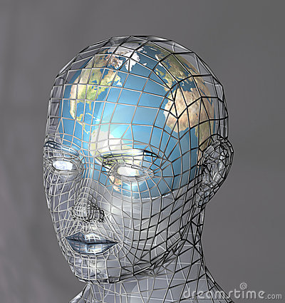 Free Head Housing A Globe Royalty Free Stock Photos - 668738