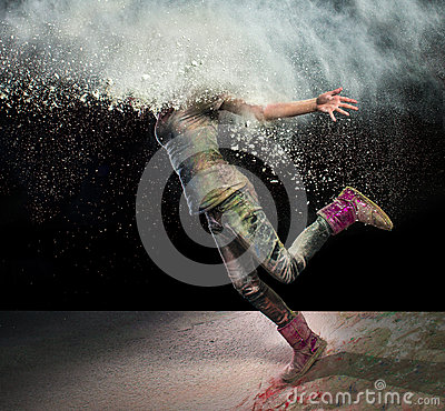 Free Head In Powder Royalty Free Stock Photography - 36302967