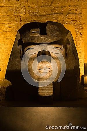 Head of pharaoh Ramses II