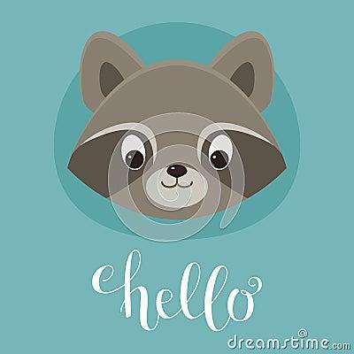 Free Head Raccoon Royalty Free Stock Photos - 92668848