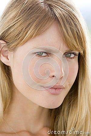 Head shot of woman