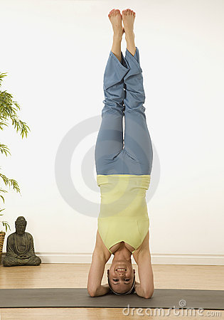 Free Head Stand Stock Photos - 10576623