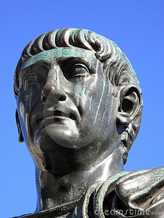 Head Of Trajan 53-117AD