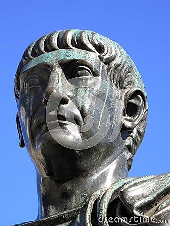 Head Of Trajan 53-117AD