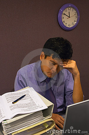 Free Headache At Work Royalty Free Stock Image - 316396