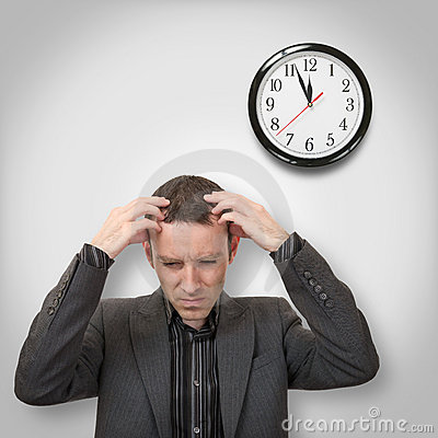 Headache and clock