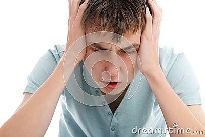 Headache migrain pain angst or stress