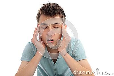 Headache pain discomfort