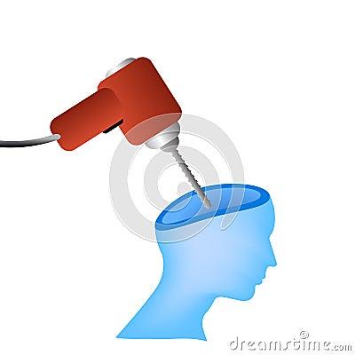 Headache vector concept