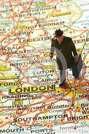 Heading for London