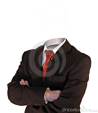 Free Headless Business Man Stock Image - 2533251