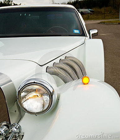 Headlight on Excalibur Limo