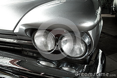 Headlight old car