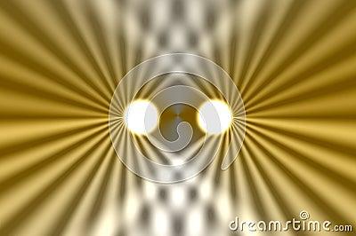 headlights abstract