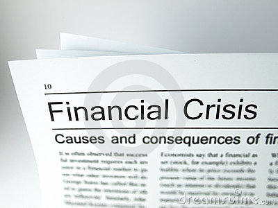 The headline of the financial crisis
