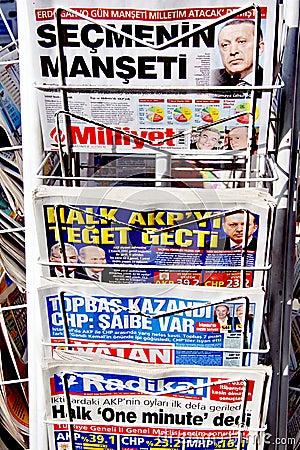 Headlines Editorial Photography