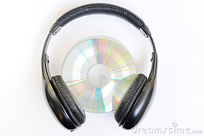 Headphone with CD