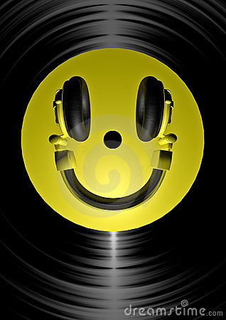 Headphone smiley