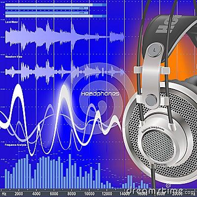 Headphones And Audio Equalizer
