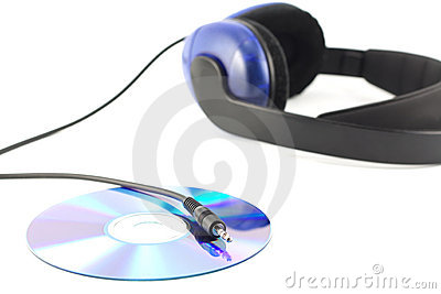Headphones with cd