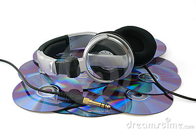 Headphones on CD disks