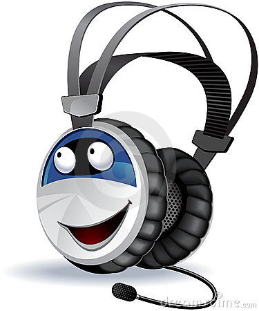 Headphones character