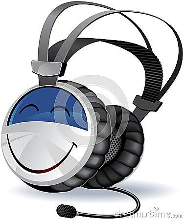 Headphones character